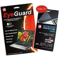 15.6inch Laptop Screen Guard (Size 342 X 192 Mm) With Free Keyboard Skin
