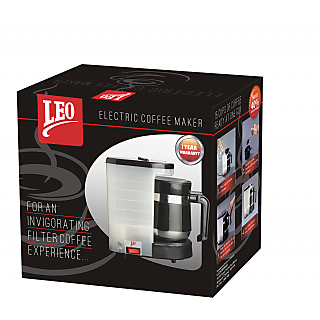 Leo Electric Coffee Maker : Coffee Maker / Coffee Filter - From Leo Coffee