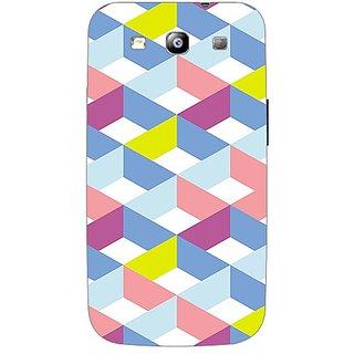 Garmor Designer Plastic Back Cover For Samsung I9300 Galaxy S III