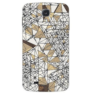 Garmor Designer Plastic Back Cover For Samsung I9500 Galaxy S4