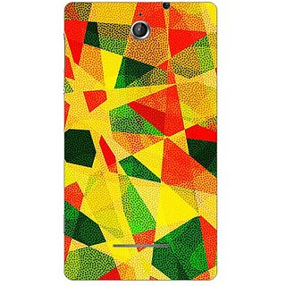 Garmor Designer Plastic Back Cover For Sony Xperia E