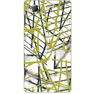 Garmor Designer Plastic Back Cover For Sony Xperia L