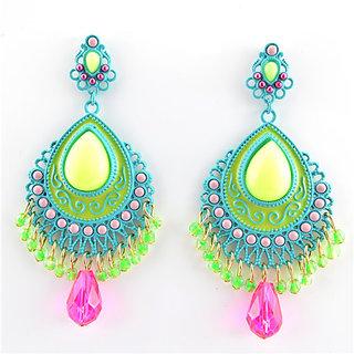 M-Aemilius Brand Vintage Crystal Pearl Shamballa Drop Earring For Women Earing