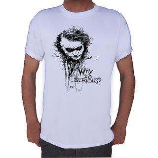 Why So Serious T-shirt By Shopkeeda