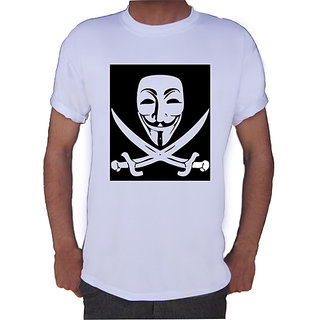 Mask With Sword T-shirt By Shopkeeda