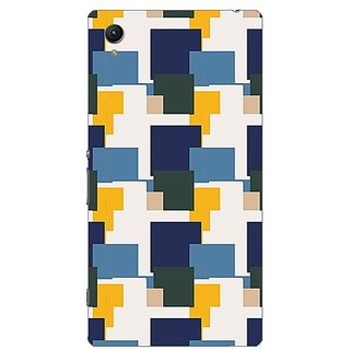 Garmor Designer Plastic Back Cover For Sony Xperia Z1