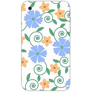 Garmor Designer Plastic Back Cover For Apple iPhone 3G