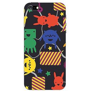 Garmor Designer Plastic Back Cover For Apple iPhone 5