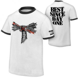 CM Punk T shirt New White ARROW designer Tshirt Made in India
