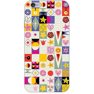 Garmor Designer Plastic Back Cover For Apple iPhone 6s
