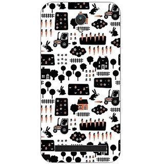 Garmor Designer Plastic Back Cover For Asus Zenfone C