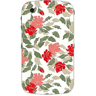 Garmor Designer Plastic Back Cover For BlackBerry Curve 8520