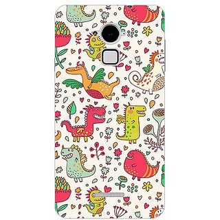 Garmor Designer Plastic Back Cover For Coolpad Note 3