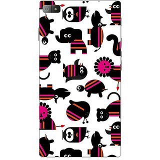 Garmor Designer Plastic Back Cover For BlackBerry Z3