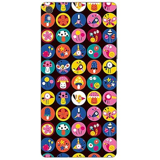 Garmor Designer Plastic Back Cover For Gionee Elife S5.1