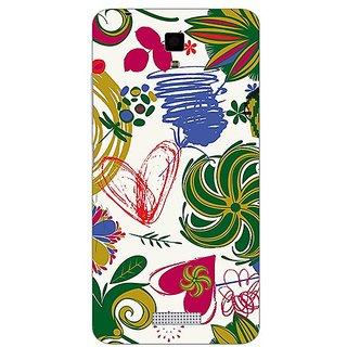 Garmor Designer Plastic Back Cover For Gionee Pioneer P4