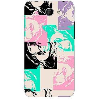 Garmor Designer Plastic Back Cover For HTC Desire 516