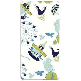 Garmor Designer Plastic Back Cover For Gionee Elife S5.1