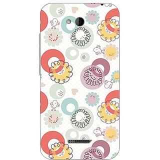 Garmor Designer Plastic Back Cover For HTC Desire 616