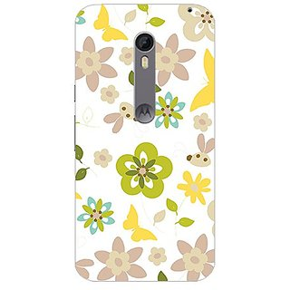 Garmor Designer Plastic Back Cover For Motorola Moto X Style