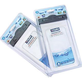 Digitek Waterproof Bag for Smart phone-white