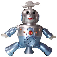 Mankoose Dancing Robot Toy - Mobile Dancing Action Rotate 360 Degree