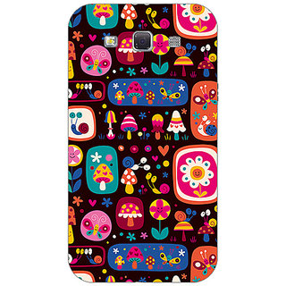 Garmor Designer Plastic Back Cover For Samsung Galaxy Grand Quattro Win I8550