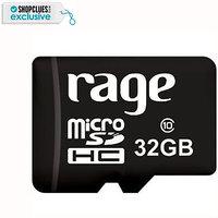 Rage 32 GB Class 10 MicroSDHC