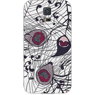 Garmor Designer Plastic Back Cover For Samsung Galaxy S5 SM-G900
