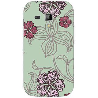 Garmor Designer Plastic Back Cover For Samsung Galaxy S Duos S7562