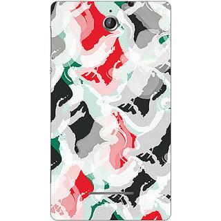 Garmor Designer Plastic Back Cover For Sony Xperia E