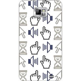 Garmor Designer Plastic Back Cover For Samsung I9100 Galaxy S 2