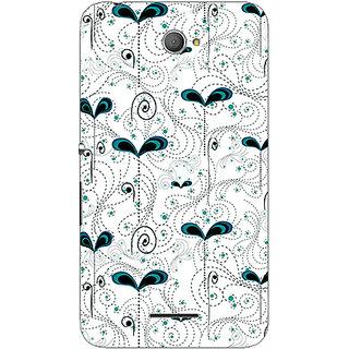 Garmor Designer Plastic Back Cover For Sony Xperia E4