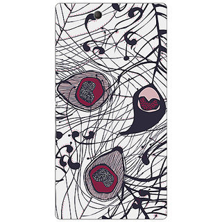 Garmor Designer Plastic Back Cover For Sony Xperia Z Ultra