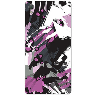 Garmor Designer Plastic Back Cover For Sony Xperia Z3