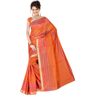 Fabplus cotton saree with blouse piece RCRP1207