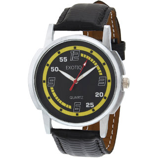 Oura Exotiq Analog Round Multi-color Dial Casual Ware Watch For Men
