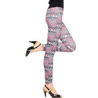 67% Discount On Womens Asymmetrical Printed Leggings