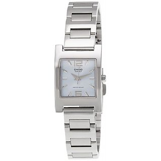Casio Enticer Analog Silver Dial Women's Watch - LTP-1283D-2ADF (A254)