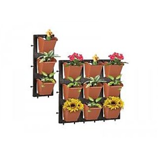 PLANTER - Vertical wall planter Panel -Pack of 9pots