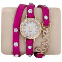 Pink Love Watch Ladies