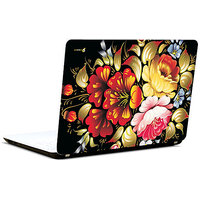 Pics And You Colourful Flowers 3M/Avery Vinyl Laptop Skin Decal-AB036
