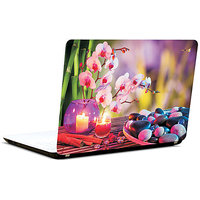 Pics And You Stones And Candle 2 3M/Avery Vinyl Laptop Skin Decal-AB038