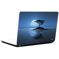 Pics And You Tree In Moon Light 3M/Avery Vinyl Laptop Skin Decal-AB039