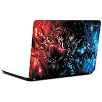 Pics And You Red And Blue 3M/Avery Vinyl Laptop Skin Decal-AB046