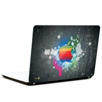 Pics And You Apple Logo Coloured 3M/Avery Vinyl Laptop Skin Decal-AB050