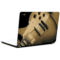 Pics And You Guitar Brown 3M/Avery Vinyl Laptop Skin Decal-AB053