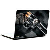 Pics And You Gun N Bullet 6 3M/Avery Vinyl Laptop Skin Decal-AB080