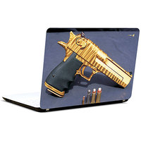 Pics And You Gun N Bullet 2 3M/Avery Vinyl Laptop Skin Decal-AB076
