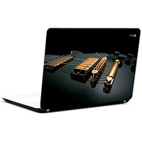 Pics And You Guitar Black 3M/Avery Vinyl Laptop Skin Decal-AB054